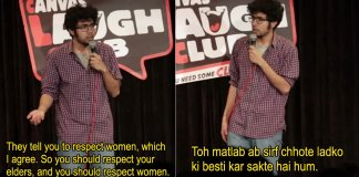 indian standup comedy joke abhishek