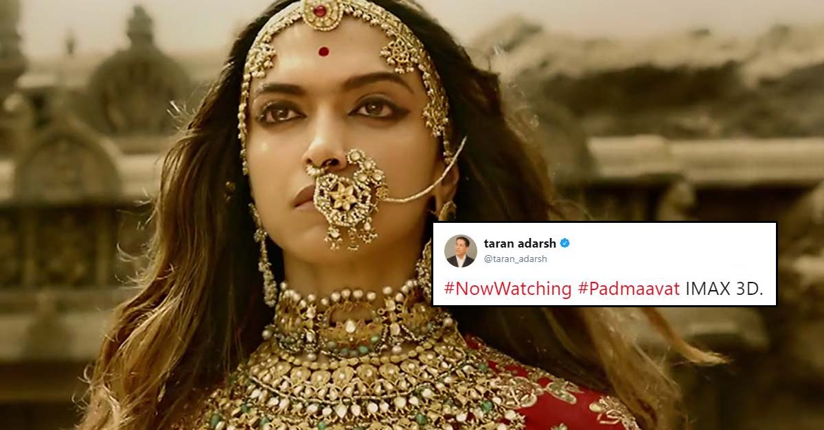 Padmaavat Review: Early Critic Reviews Are In & Here's What They Are Saying