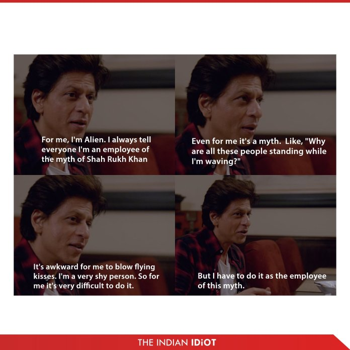 My next guest shah rukh khan quote