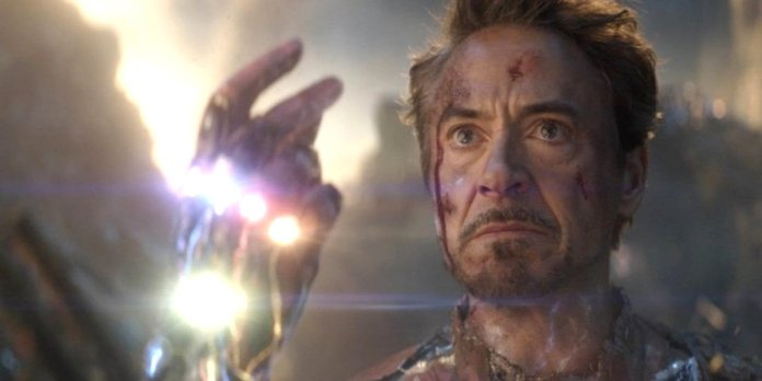 Ironman snapping finger