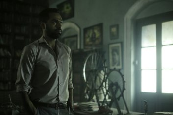 abhay deol standing, in a still from JL50