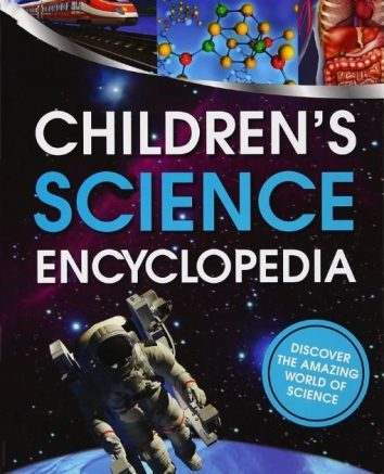 in photo cover of the book childrens science encyclopedia