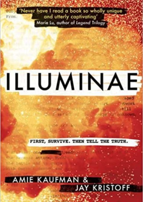 cover page of the book illuminae