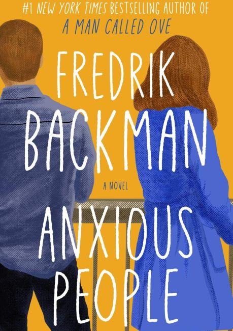 cover page of the book anxious people