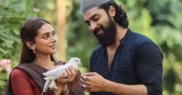 in photo the charcaters from the movie Sufiyum Sujatayum