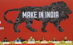 Lancement de la campagne Make in India