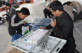 Assembly election in Assam , EVM distribution