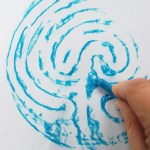 The Finger Labyrinth - Make a Rubbing