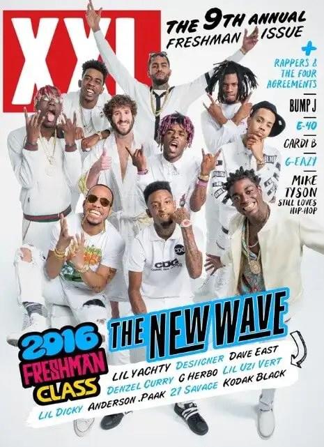 2016 XXL Freshmen