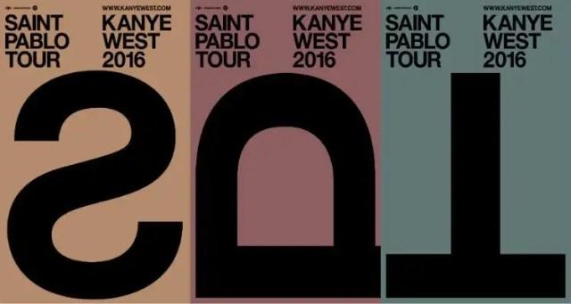 KANYE WEST ANNOUNCES THE SAINT PABLO TOUR