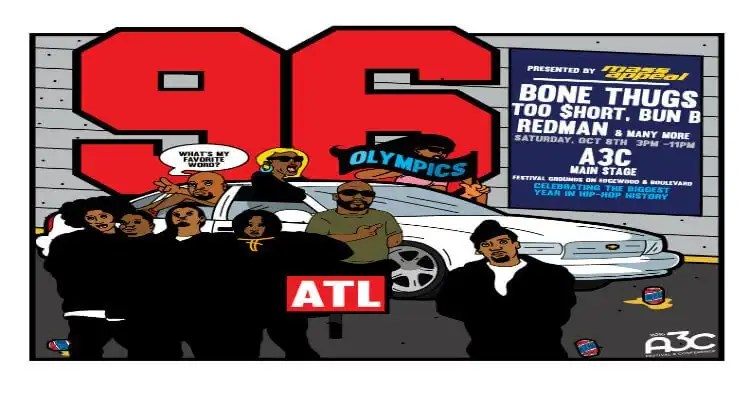 A3C and Mass Appeal Announce Performers for 1996 Stage