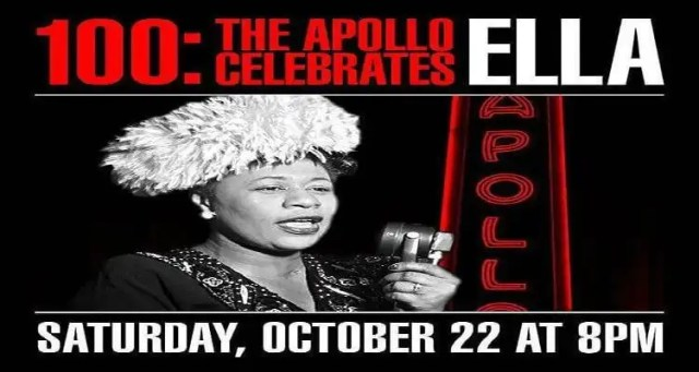 Season - 100: The Apollo Celebrates Ella- October 22nd