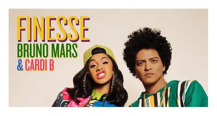 Bruno Mars - Finesse (Remix) Feat. Cardi B