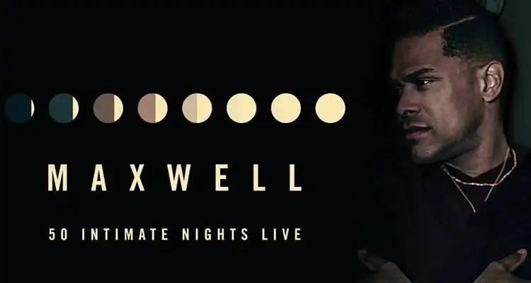 Maxwell Announces '50 Intimate Nights Live' Tour