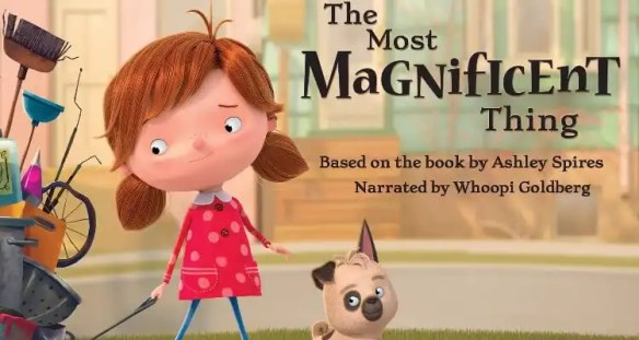 Whoopi Goldberg Narrates Animated Short Film 'The Most Magnificent Thing'
