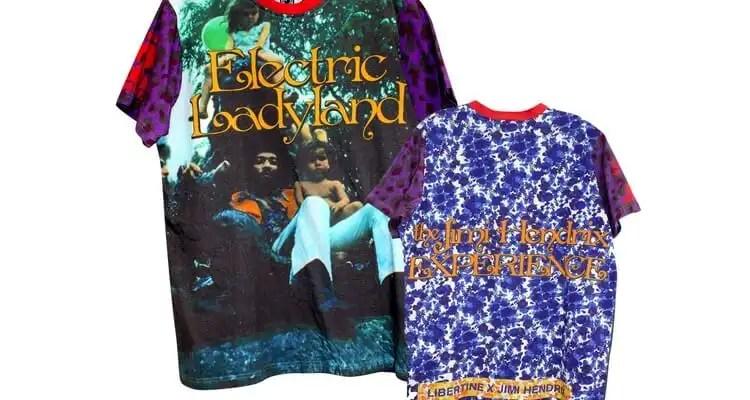 Authentic Hendrix And Libertine Partner To Capture Jimi Hendrix' Fashion Styling
