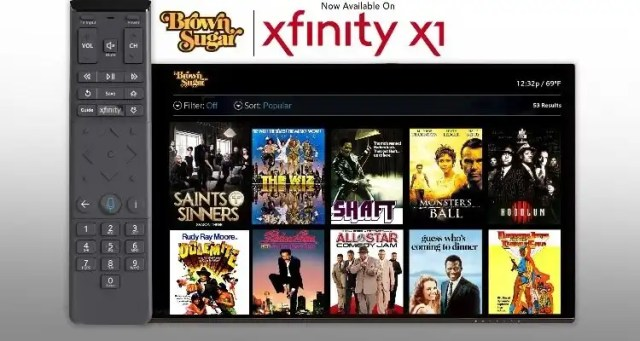 Xfinity X1 Gets Some Brown Sugar