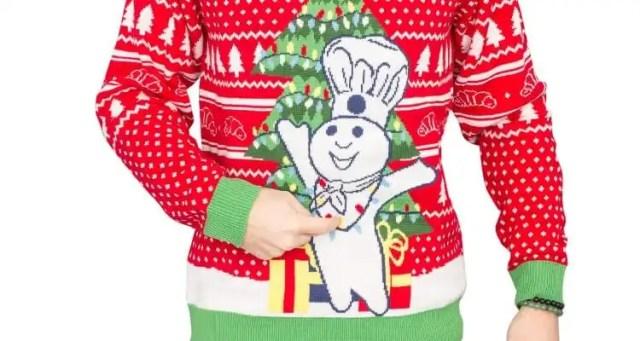 Pillsbury Debuts Doughboy Ugly Christmas Sweaters
