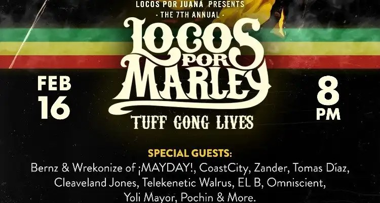 7th Annual Locos Por Marley Taking Place February 16th