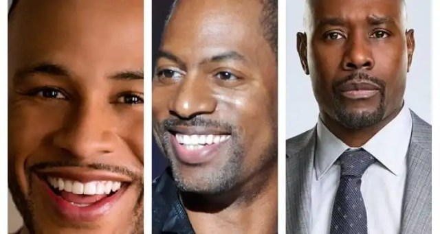 Morris Chestnut, Tony Rock and DeVon Franklin Appear on The DL Hughley Show This Week