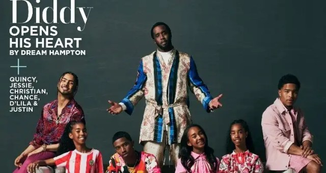 Diddy Covers Essence 49th Anniversary Issue