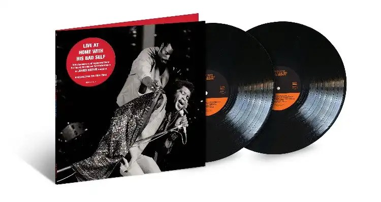 James Brown's 'Live at Home with His Bad Self' to be Released October 25th