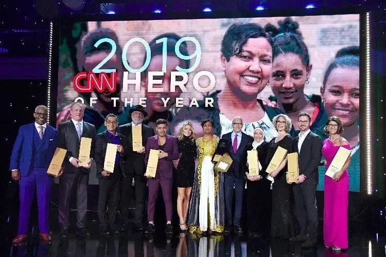 Freweini Mebrahtu Named The 2019 CNN Hero Of The Year