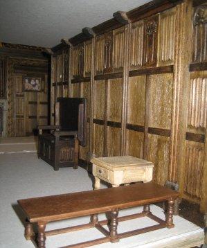 theinfill - Medieval, Tudor, Jacobean dolls house blog - Elizabethan/Jacobean Long Gallery