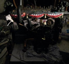 theinfill doll's house blog - Using the wiring in a steampunk style fantasy - Time Techs