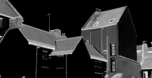 Rooflines and valleys - theinfill dolls' house blog - Medieval, Tudor and Jacobean