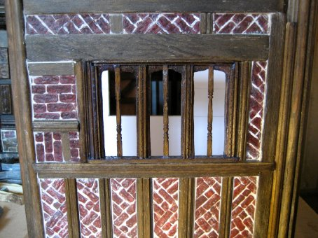 theinfill – the infill – Tudor, Elizabethan, Jacobean Dolls House Blog – Front Porch externals