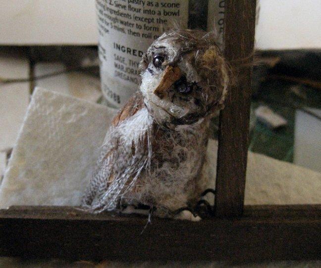 theinfill Medieval, Tudor, Jacobean 1:12 dolls house blog - the infill dolls house blog – owl on the beams