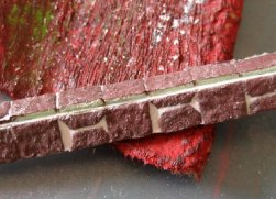 theinfill Medieval, Tudor, Jacobean 1:12 dolls house blog - the infill dolls house blog – egg carton bricks 3