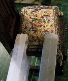 theinfill Medieval, Tudor, Jacobean 1:12 dolls house blog - the infill dolls house blog – forcing a cushion into shape wanted