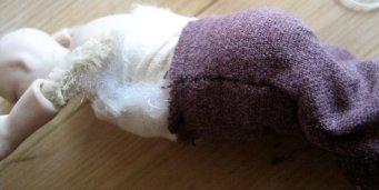 theinfill Medieval, Tudor, Jacobean dolls house blog - theinfill dolls house blog – padding a 1:12 doll body