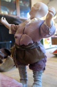 theinfill Medieval, Tudor, Jacobean dolls house blog - theinfill dolls house blog – shaping the clothes for 1:12 doll 2
