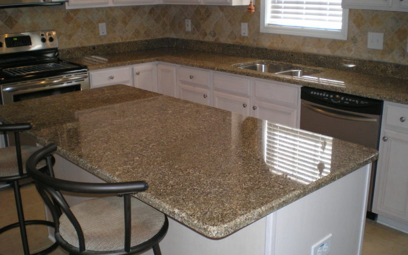 can you install granite tile over