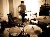 Simon, between takes at 123 Studios in November 2012