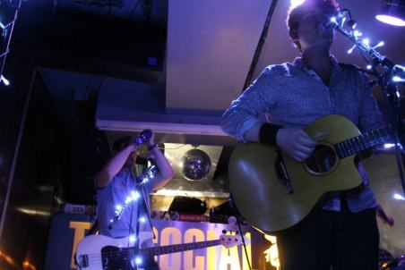 The stage from below (EP Launch Party 13th April 2013)