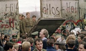 A Gap in the Berlin Wall