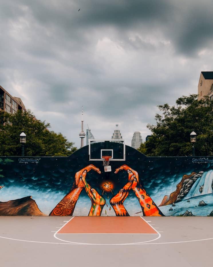 The Esplanade Basketball Court