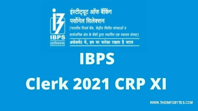IBPS (Institute of Banking Personal Selection) Clerk XI Vacancy 2021