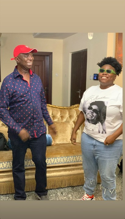 2F4DBD23 159B 46FC A3B5 C758CE751540 - Singer Teni celebrates with Ned Nwoko and Regina on his birthday in their Abuja mansion (Photos)