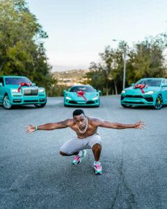 Rapper, Yo Gotti spends $1.3m on Rolls-Royce, Lamborghini, Ferrari, and Richard Mille watch to celebrates his 39th birthday (Photos)