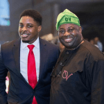 Ovation publisher, Dele Momodu's sons are all grown up
