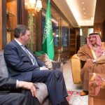 Crown Prince Meets with Belgian, New Zealand's Security Chiefs