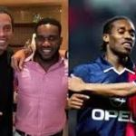 Video: Jay Jay Okocha defeats Ronaldinho in tennis soccer ahead of Wimbledon