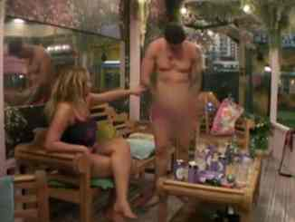 Sam Chaloner Shows His Willy on Big Brother to Impress Ellie Young