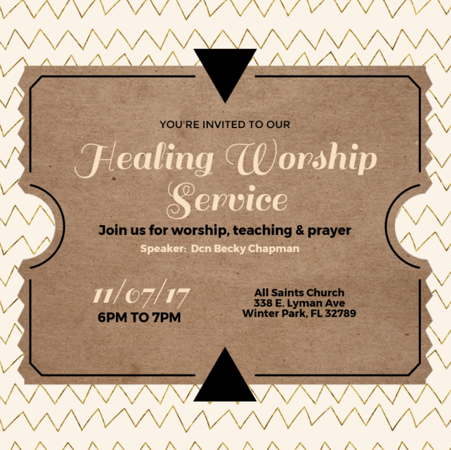 Worship Service – The Inheritance House