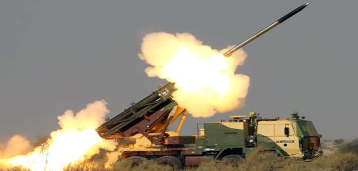 India test-fires long range Pinaka rocket system, will be deployed to counter China